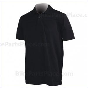 Jersey Polo Pony Short-Sleeve Black