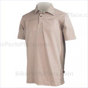 Jersey Polo Pony Short-Sleeve Beige