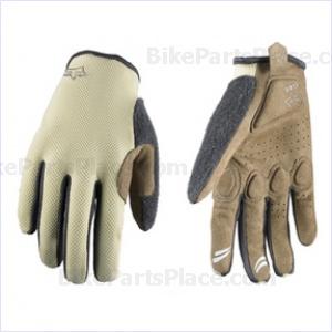 Gloves - Reflex - Womens Full-Finger Cream
