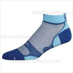 Socks Levitator Lite Royal/Light Blue