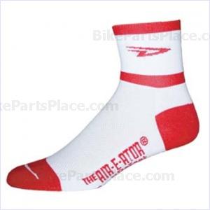 Socks Air-E-Ator White-Red
