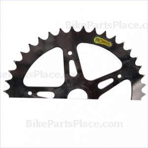 One-piece Crank Chainring Silver