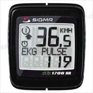 Cycling Computer BC 1706 HR DTS Black