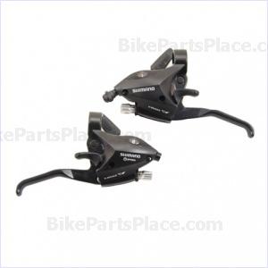 Brake Lever and Shift Lever Set - Altus Black