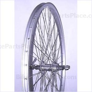 Clincher Rear Wheel - 26 x 1.75 inches (Aluminum Rim)