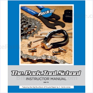 Book - Big Blue Book of Bicycle Repair Teachers Guide by C. Cavin Jones